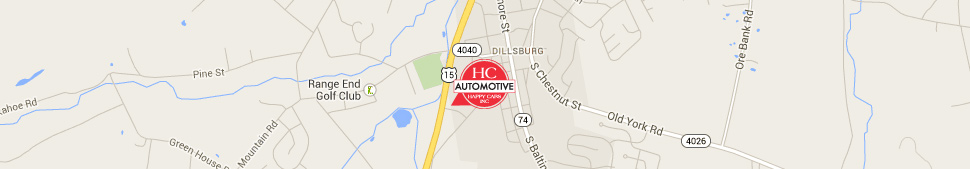 Directions to HC Automotive